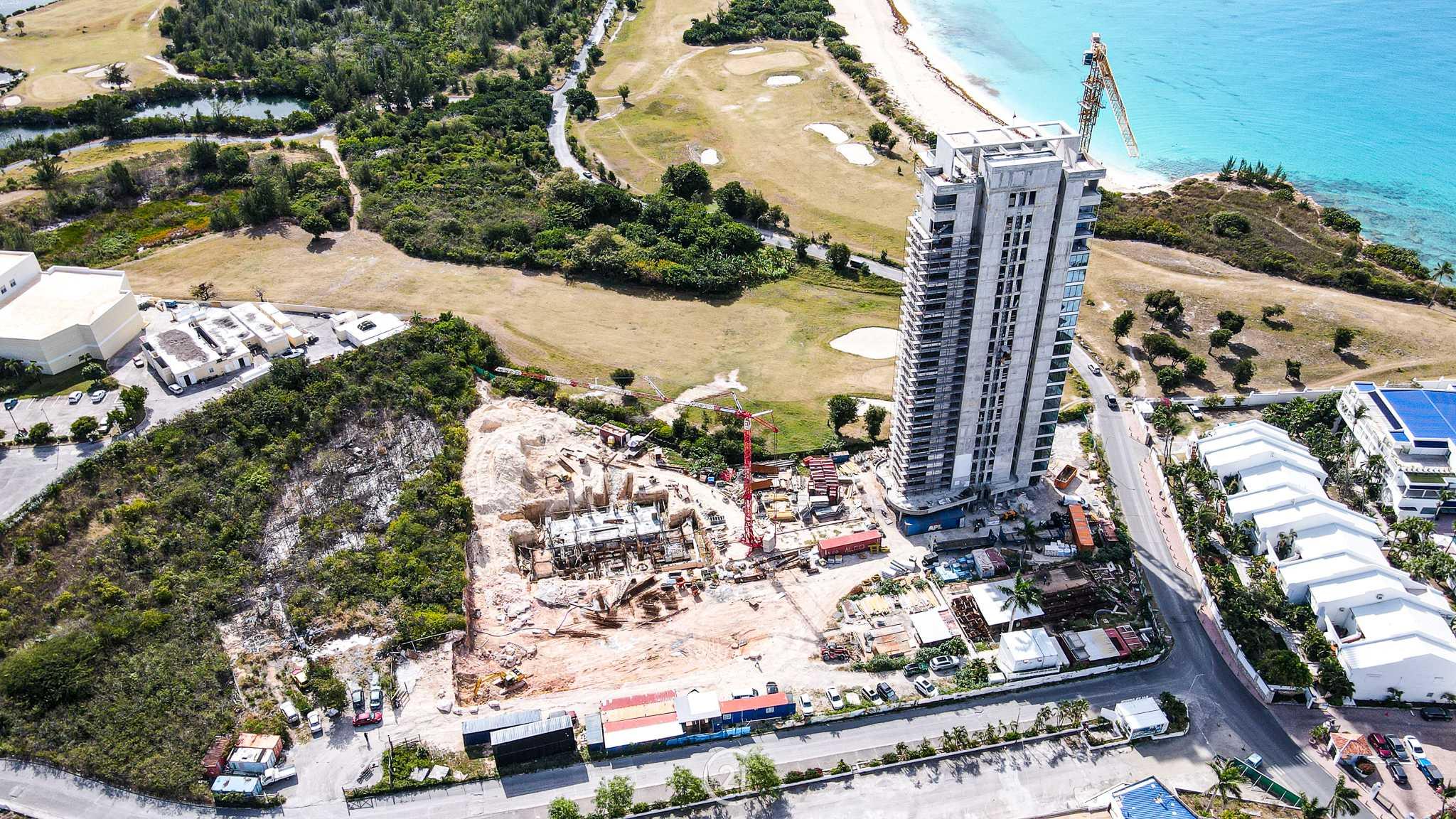 Construction In St Maarten 2021